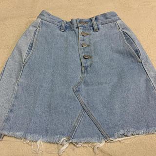 ウィゴー(WEGO)のデニムスカート(ミニスカート)