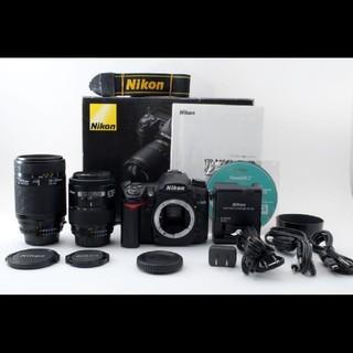 ニコン(Nikon)の☆超極上☆ニコン Nikon D7000 Wレンズセット#618616(デジタル一眼)
