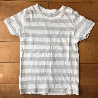 ムジルシリョウヒン(MUJI (無印良品))の無印良品 ボーダー Tシャツ 90(Tシャツ/カットソー)