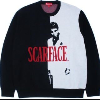 Supreme - supreme scarface sweater L スカーフェイス セーター