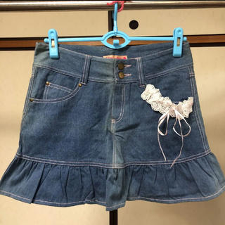 フィント(F i.n.t)の♡Fi.n.t♡Baby&Baby♡デニムスカート(ミニスカート)