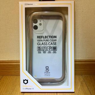 【新品未使用】iFcace クリアケース ベージュ(iPhoneケース)
