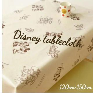 ディズニー(Disney)のDisney テーブルクロス ミッキー 新品未使用(テーブル用品)