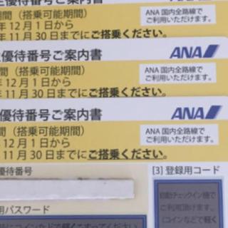 ANA(全日本空輸) - ANA  全日空 株主優待券