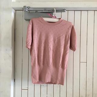 miumiu - miumiu pink spring knit.