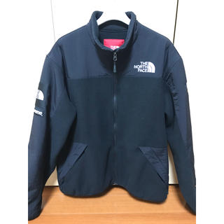 Supreme - supreme north face rtg fleece jacket 黒 L
