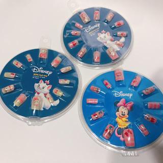 ディズニー(Disney)のかわいい ディズニー ネイルチップセット ミニーマウス おしゃれキャットマリー(つけ爪/ネイルチップ)