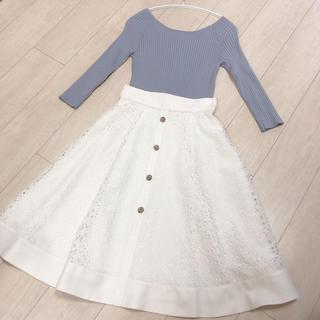 Rirandture - 【新品タグ付き♪】リラ♡レースフレアスカート