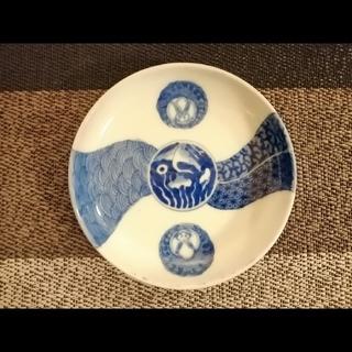 京都てっさい堂 古伊万里の豆皿(陶芸)