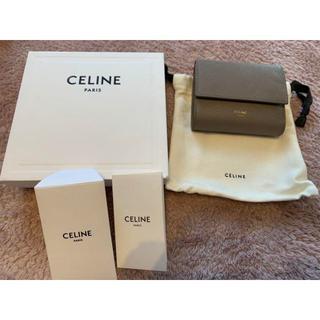celine - celine 三つ折り財布 トリフォールドウォレット