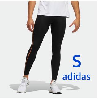 アディダス(adidas)のアディダス adidas ロングタイツ メンズS 定価6250円(レギンス/スパッツ)