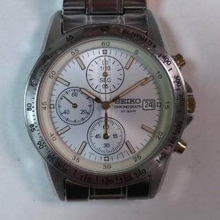 セイコー(SEIKO)のセイコー・クロノグラフ腕時計(腕時計(アナログ))
