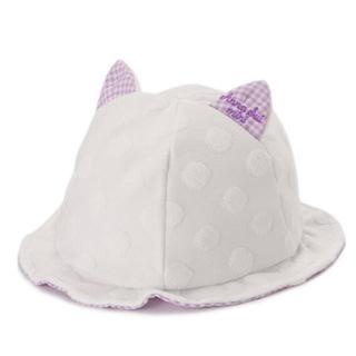 ANNA SUI mini - アナスイミニ ネコ耳パイル水玉帽子