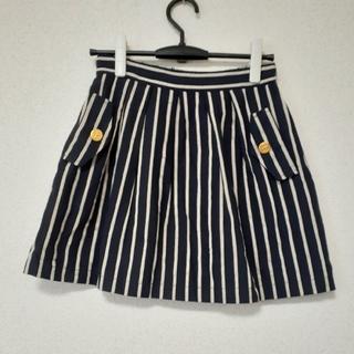 エルシー(ellecy)のellecy♡マリンスカート♡ミニ(ひざ丈スカート)