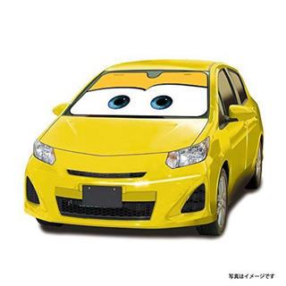 ディズニー(Disney)のカーズ 車用 サンシェード イエロー(車内アクセサリ)