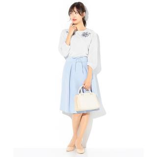 エニィスィス(anySiS)の美品♡オールシーズン着用可☆anySiS フェミニンフレアースカート(ひざ丈スカート)