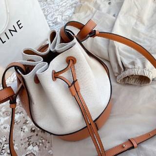 LOEWE - 人気のバルーンバッグを LOEWE  ecru/tan front