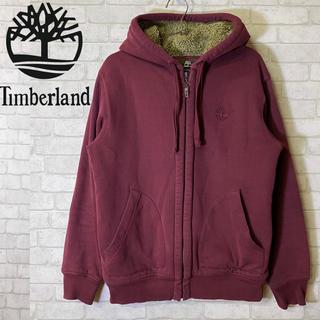Timberland - 【Timberland】ティンバーランド パーカー 裏地ボア エルボーパッチ/S