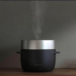 BALMUDA - 【新品未使用】バルミューダ  The Gohan 炊飯器 ブラック