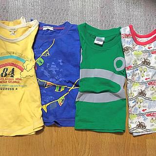 ユニクロ(UNIQLO)のサイズ 100 半袖(Tシャツ/カットソー)