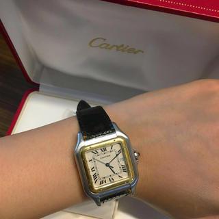 カルティエ(Cartier)のカルティエ正規美品パンテールLM腕時計(腕時計)