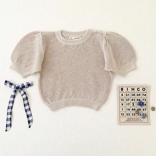 キャラメルベビー&チャイルド(Caramel baby&child )のSOORPLOOM  Mimi Knit Top  6/7y(Tシャツ/カットソー)