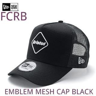 エフシーアールビー(F.C.R.B.)の【新品】FCRB NEWERA EMBLEM MESH CAP BLACK(キャップ)