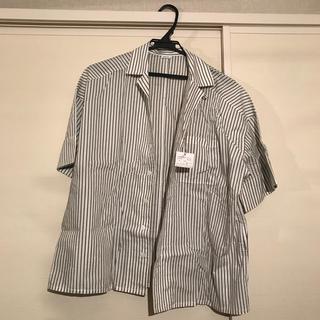パーリッシィ(PAR ICI)のPAR ICI シャツ ストライプ(シャツ/ブラウス(半袖/袖なし))