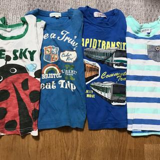 サンカンシオン(3can4on)のポメラ様専用95センチ 半袖 tシャツ   セット(Tシャツ/カットソー)