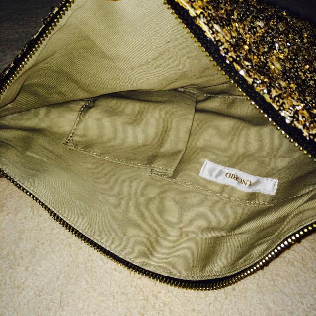 Ungrid(アングリッド)のUNGRID*スパンコールクラッチ レディースのバッグ(クラッチバッグ)の商品写真