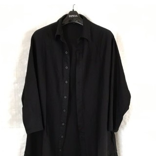 ワイスリー(Y-3)のY-3 ロングドレープ切替シャツ Yohji Yamamoto オーバーサイズ(シャツ)