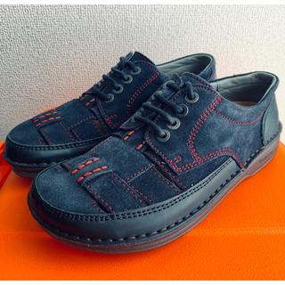 BIRKENSTOCK - ビルケンシュトック フットプリンツ 編み込み 革靴 ダービー 35 22.5cm