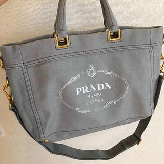 プラダ(PRADA)のプラダ正規美品カナパ2wayトートバッグ(トートバッグ)