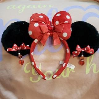 ミニーマウス(ミニーマウス)のディズニーリゾート☆ カチューシャ☆ ミニーマウス☆☆(カチューシャ)