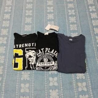 ユニクロ(UNIQLO)のT シャツ 3枚 新品あり(Tシャツ/カットソー)