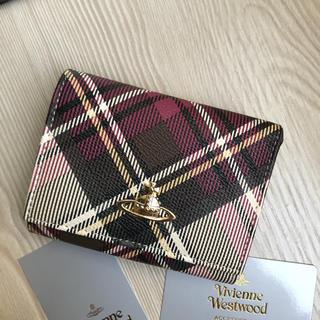 Vivienne Westwood - Vivienne Westwood 超美品超レアなチェック柄三つ折り がま口財布