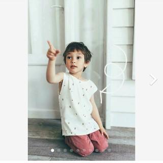 ザラキッズ(ZARA KIDS)の[ZARA baby 2枚セット] 2-3y ノースリーブ Tシャツ(Tシャツ/カットソー)