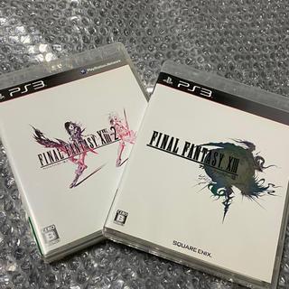 スクウェアエニックス(SQUARE ENIX)の【2枚セット】FF XIII & FF XIII-2 (家庭用ゲームソフト)