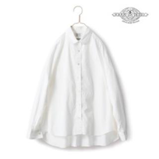 フェリシモ(FELISSIMO)のフェリシモ サニークラウズ 白ドロップシャツ(シャツ/ブラウス(長袖/七分))