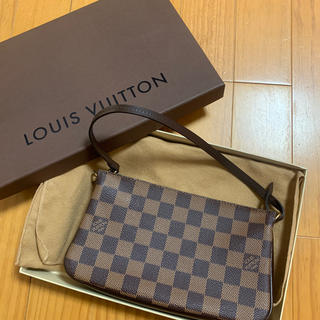 LOUIS VUITTON - 新品未使用 ルイヴィトン ダミエ バッグ ポシェット ポーチ アクセソワール