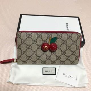 グッチ(Gucci)のGUCCI グッチ シェリーライン長財布正規品(財布)