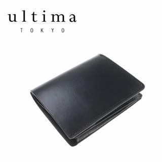 エース(ace.)の【新品未使用】ultima TOKYO 日本製 牛革 ミニウォレット(折り財布)