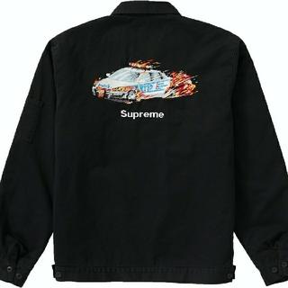 シュプリーム(Supreme)のsupreme Cop Car Embroidered Work Jacket (ブルゾン)