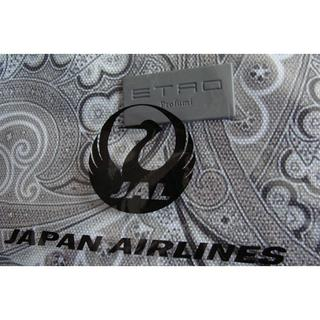 ジャル(ニホンコウクウ)(JAL(日本航空))のJAL 日本航空 鶴丸 ETRO エトロ アメニティポーチ 巾着ポーチ ケース(旅行用品)
