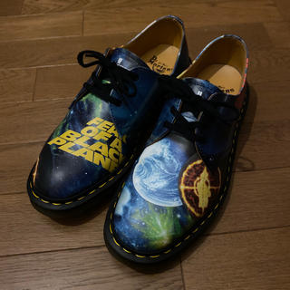 シュプリーム(Supreme)の極美品 us9 supreme x dr.martens 3 eye shoe(ブーツ)