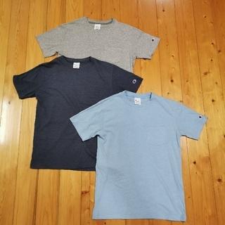 チャンピオン(Champion)のチャンピオン 胸ポケット Tシャツ 速乾 3枚セット M(Tシャツ/カットソー(半袖/袖なし))