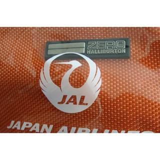 ジャル(ニホンコウクウ)(JAL(日本航空))のJAL 日本航空 鶴丸 ゼロハリバートン アメニティポーチ 巾着ポーチ ②(旅行用品)