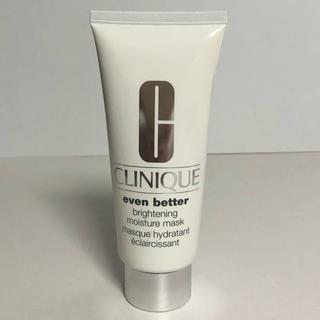クリニーク(CLINIQUE)のクリニーク イーブンベター ブライトニングモイスチャーマスク 薬用美白マスク(パック/フェイスマスク)