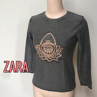 ザラ(ZARA)のknitwear ZARA♡カットソー 128cm(Tシャツ/カットソー)