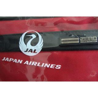 ジャル(ニホンコウクウ)(JAL(日本航空))のJAL 日本航空 鶴丸 ゼロハリバートン アメニティポーチ 巾着ポーチ ①(旅行用品)